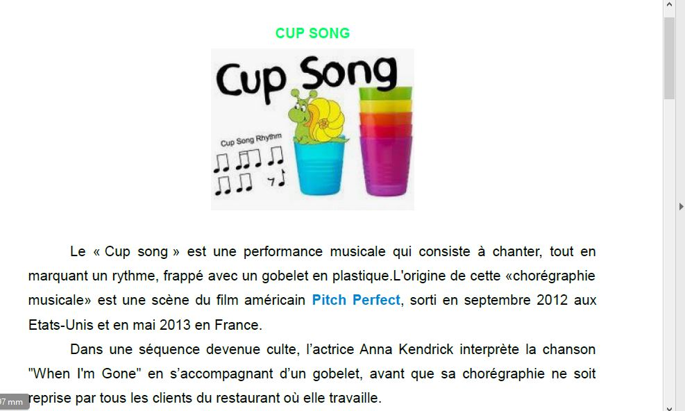 CupSon explications